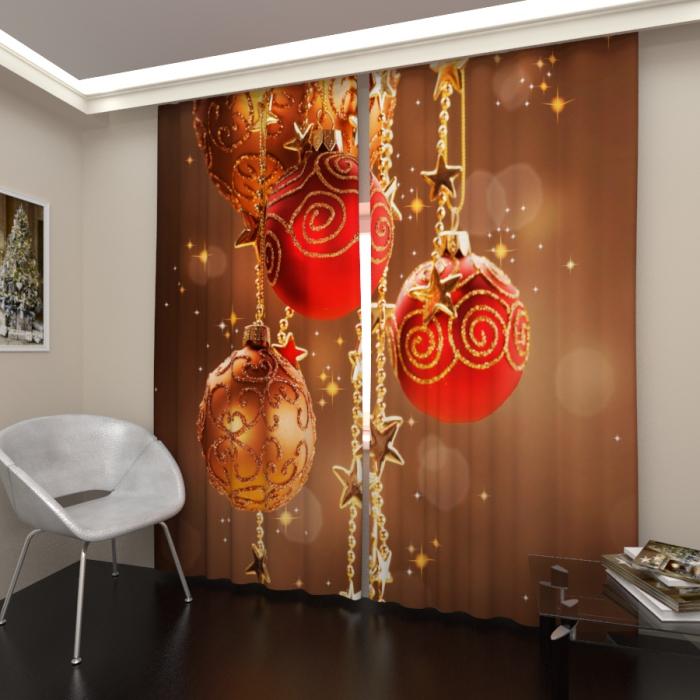 Фотошторы «Новогоднее настроение 4»