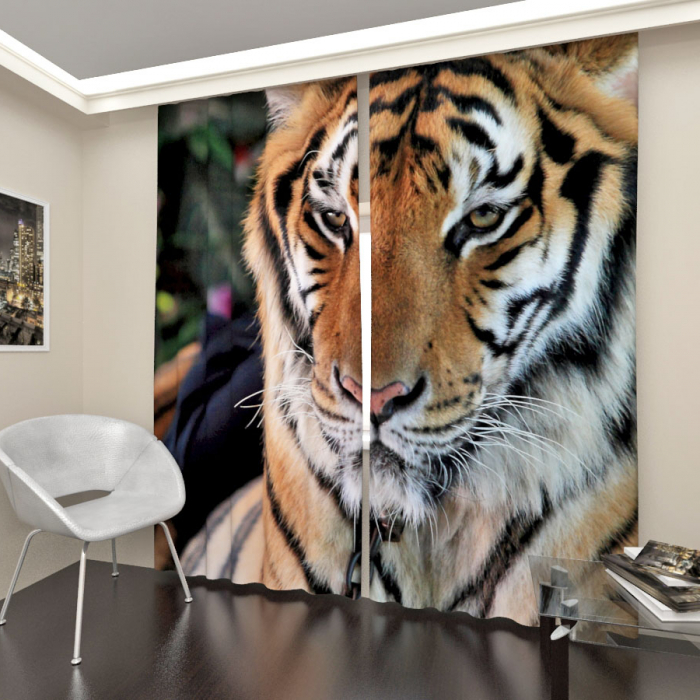 Фотошторы «Тигр 1»