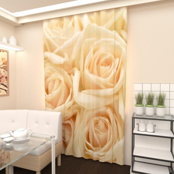 Большая распродажа «Розы белые 3»