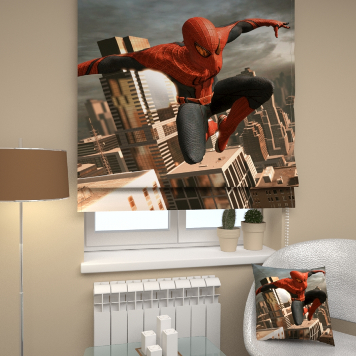 Римские фотошторы «Р Человек паук 3»