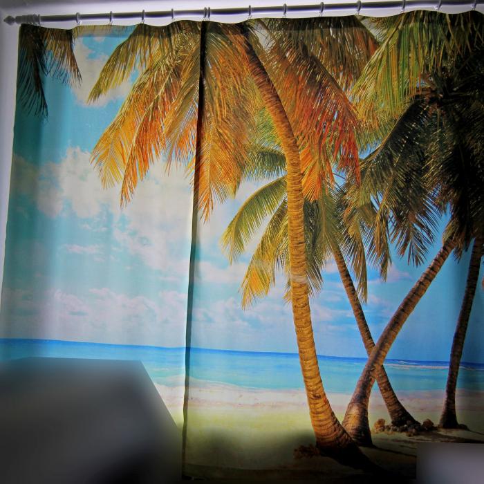 Фотошторы «Карибы»