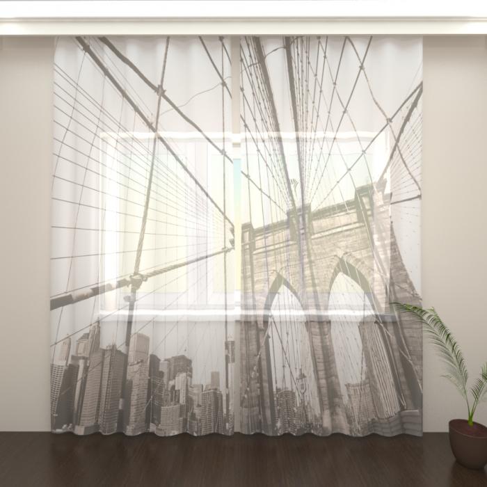 Фототюль «Бруклинский мост»
