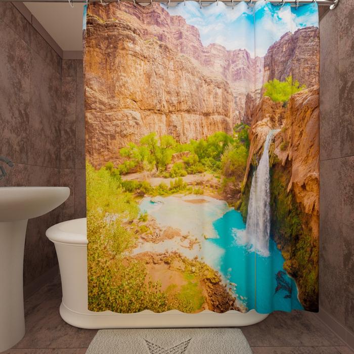Фотошторы для ванной «Гранд Каньон 2»