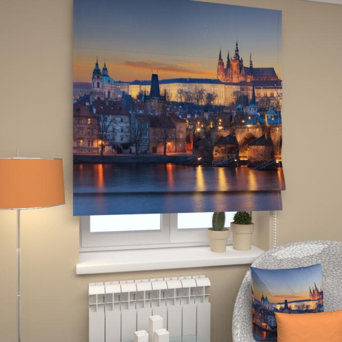 Римские фотошторы «Р Осенняя Прага»