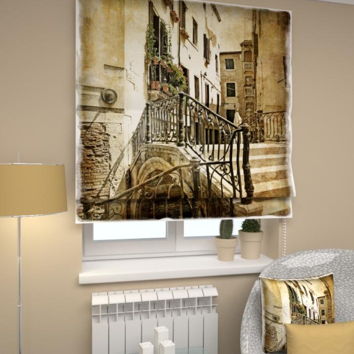 Римские фотошторы «Р Старая Венеция 1»