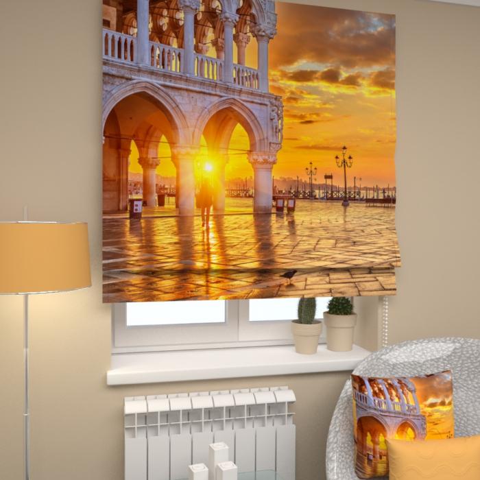 Римские фотошторы «Р Вечерняя Венеция 1»