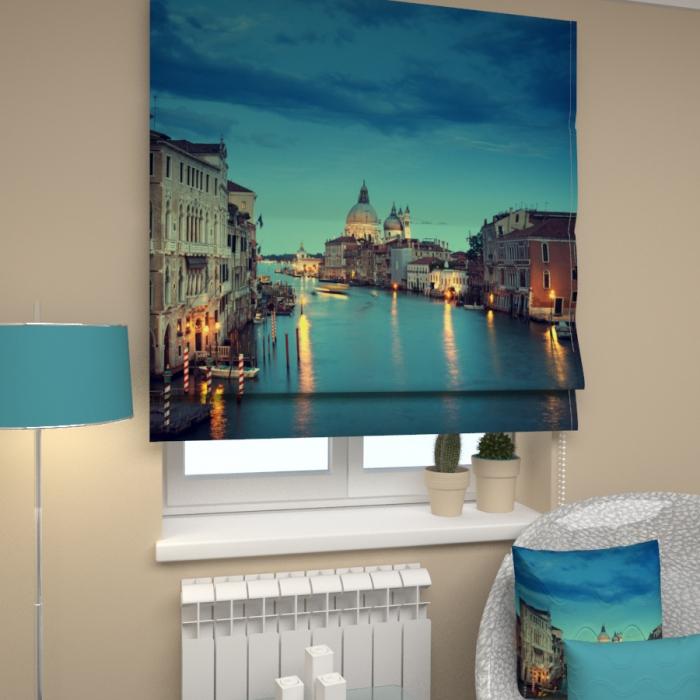 Римские фотошторы «Р Вечерняя Венеция 2»
