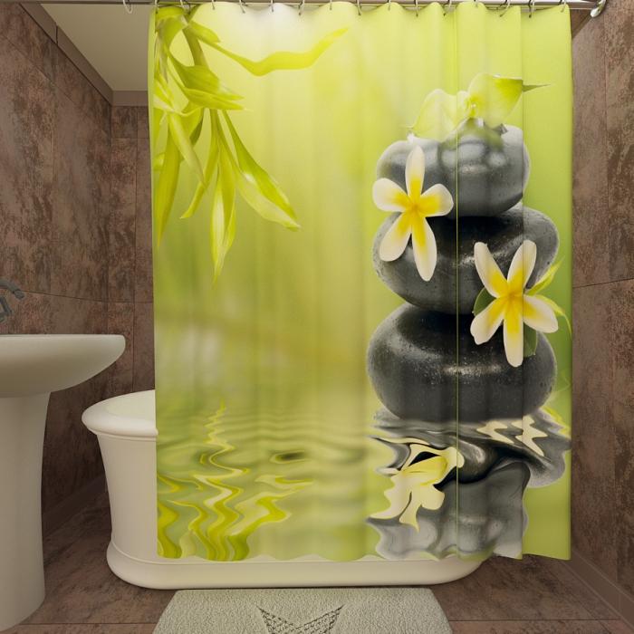 Фотошторы для ванной «Релакс 1»