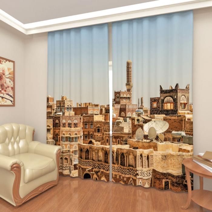 Фотошторы «Архитектура Йемена»
