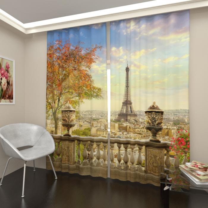 Большая распродажа «Балкон с видом на Париж»