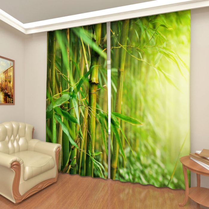 Фотошторы «Бамбуковый лес»