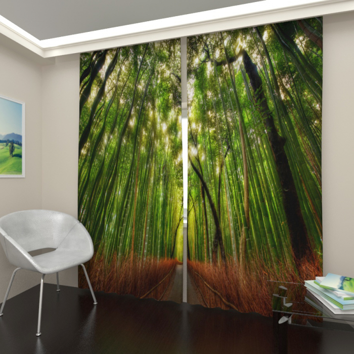 Фотошторы «Бамбуковый лес 2»