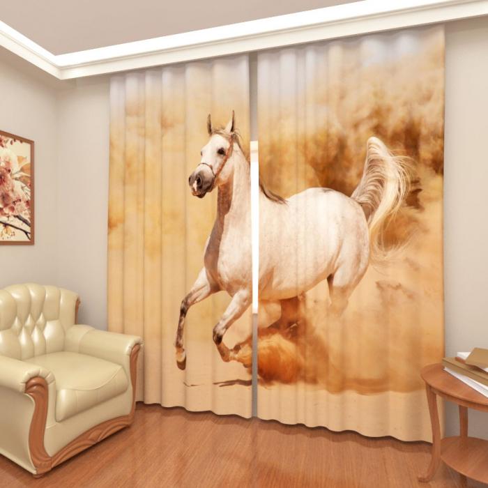 Фотошторы «Быстрая лошадь 2»