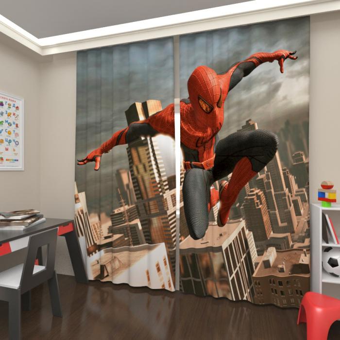 Фотошторы «Человек паук 3»