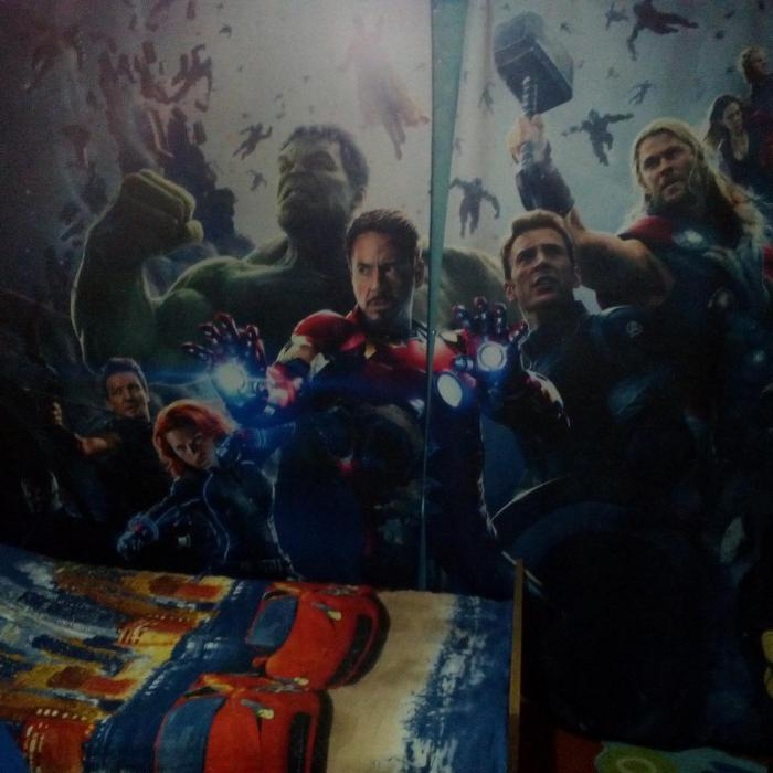 Фотошторы «Супер герои 2»