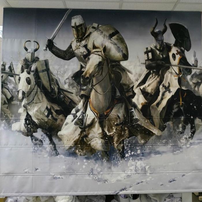 Фотошторы «Битва»
