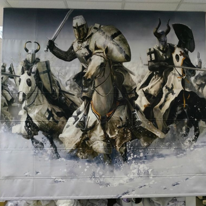 Римские фотошторы «Р Битва»