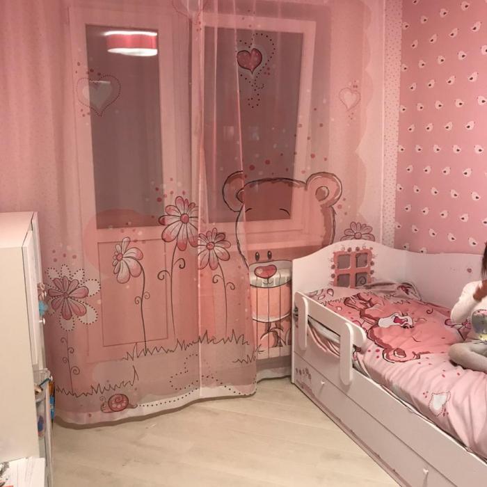 Постельное белье «КПБ Розовый медведь»