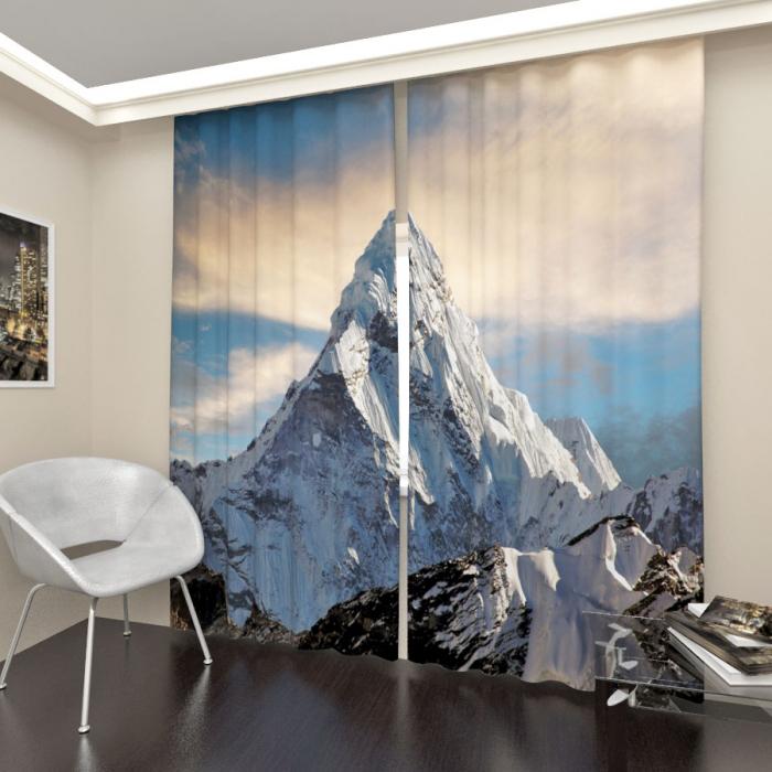 Фотошторы «Эверест»