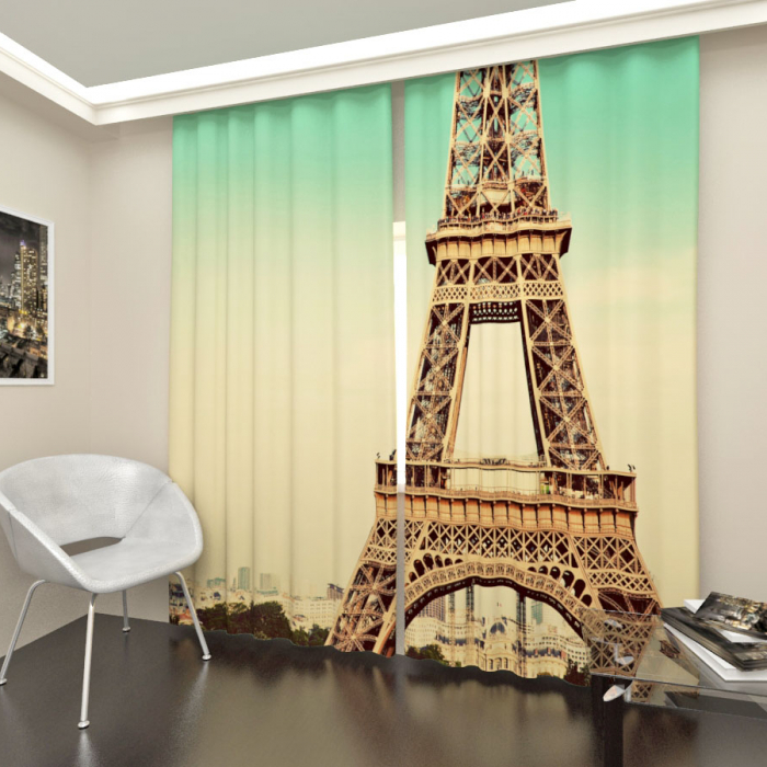 Фотошторы «Эйфелева башня»