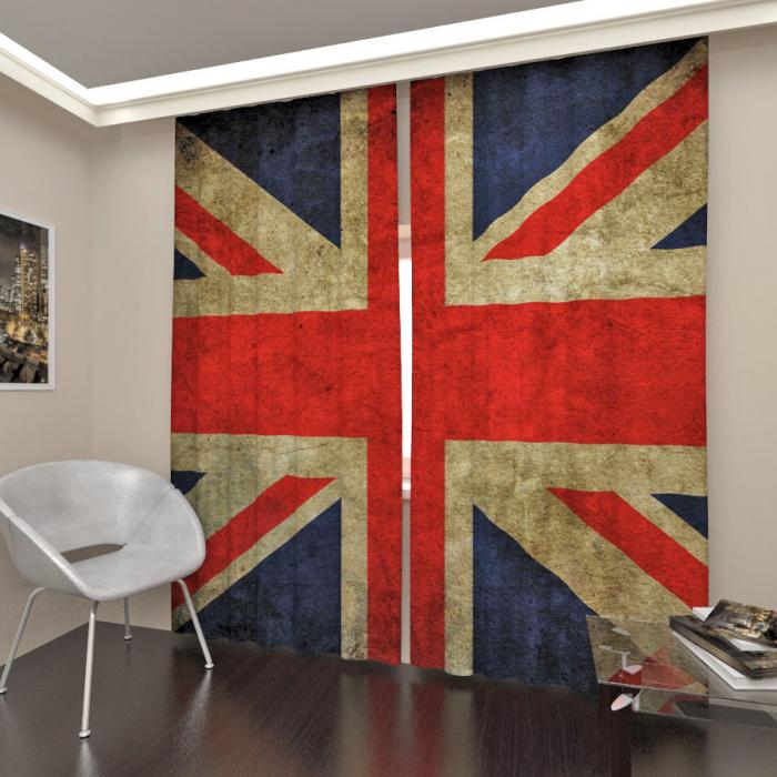 Фотошторы «Флаг Великобритании»