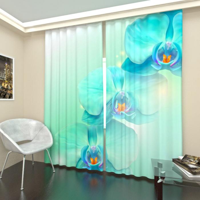 Большая распродажа «Голубая орхидея, Сатен лайт»