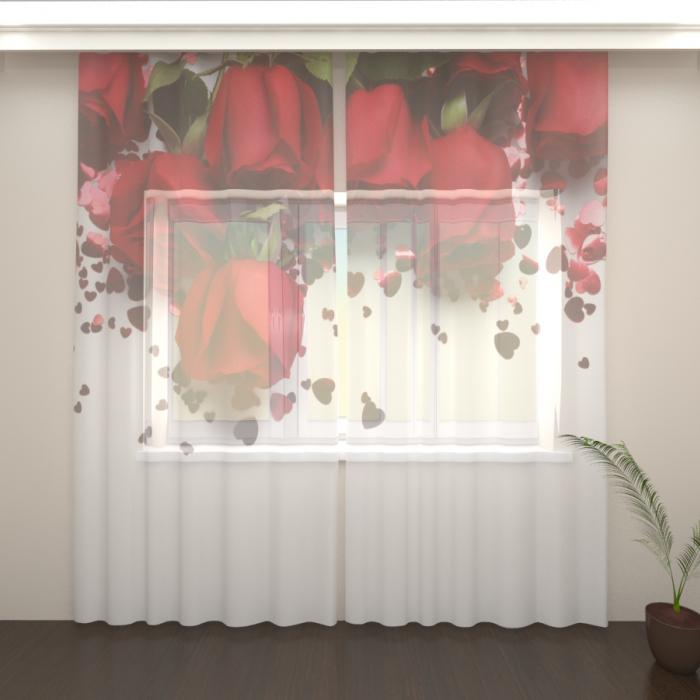Большая распродажа «Фототюль Розы в подарок»