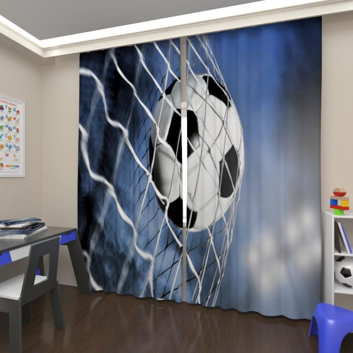 Фотошторы «Футбольный мяч»