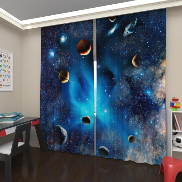 Фотошторы «Галактика 2»