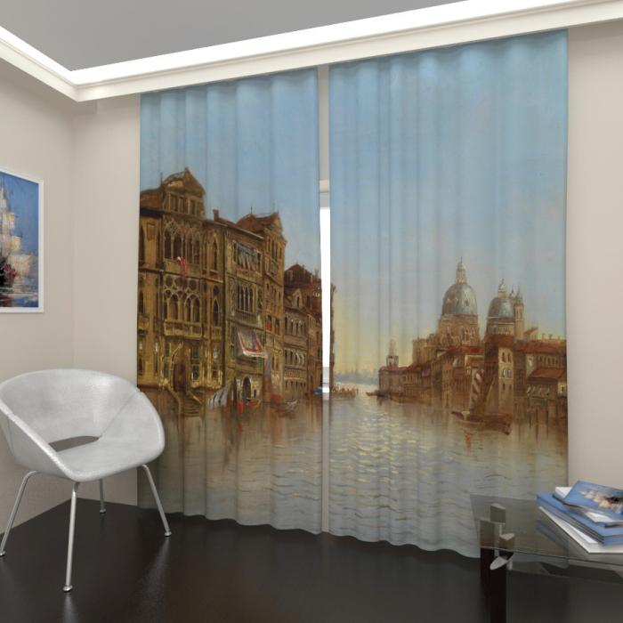 Фотошторы «Живописная Венеция»