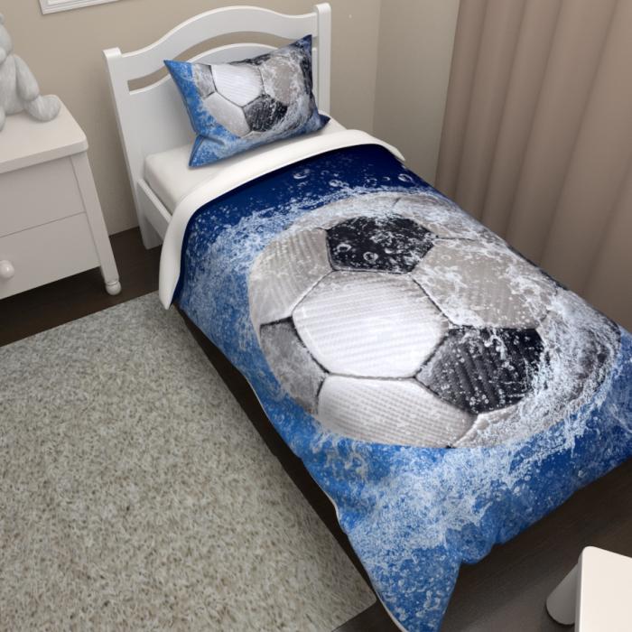 Постельное белье «КПБ Футбольный мяч 2»