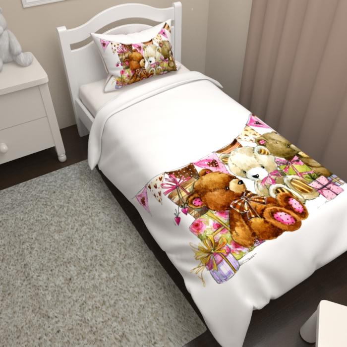 Постельное белье «КПБ Плюшевые мишки»