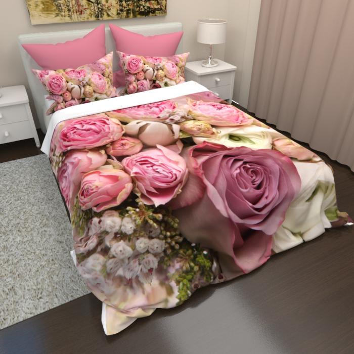 Постельное белье «КПБ Розы алые»