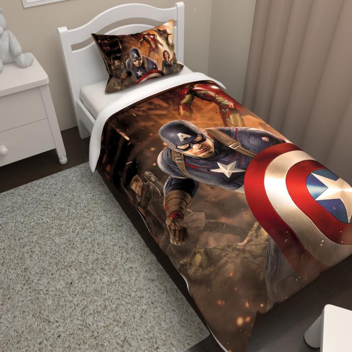 Постельное белье «КПБ супер герои»