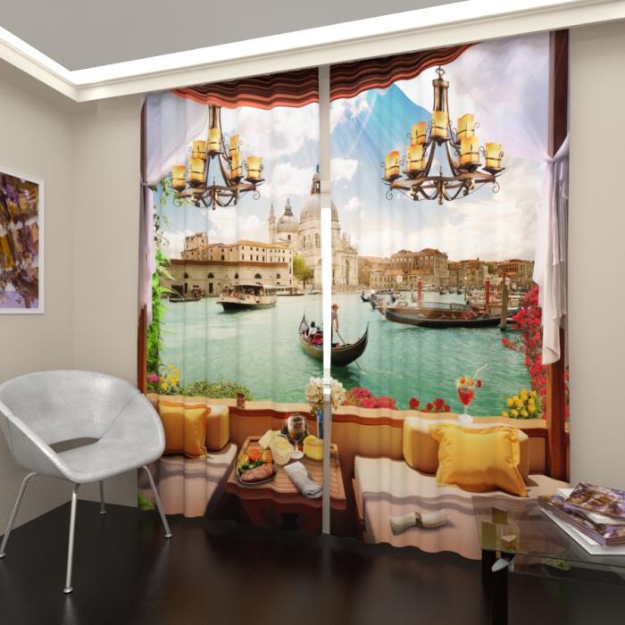 Фотошторы «Лаундж в Венеции»