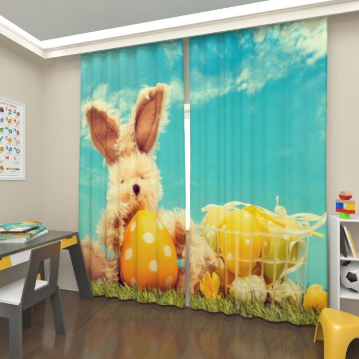 Фотошторы «Мартовский кролик 2»