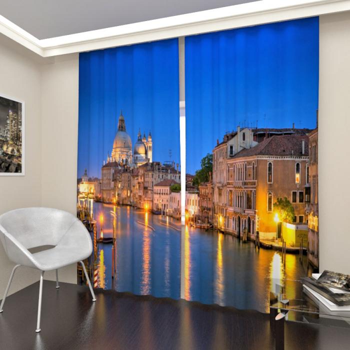 Фотошторы «Ночная Венеция 2»