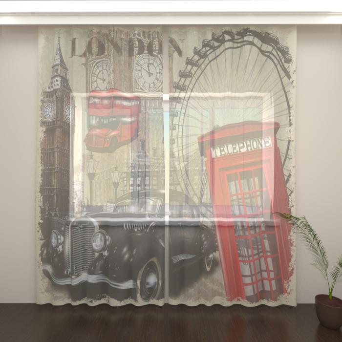 Фототюль «О Лондоне 2»