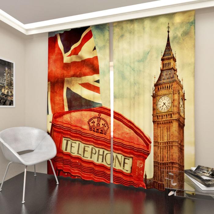 Фотошторы «О Лондоне»