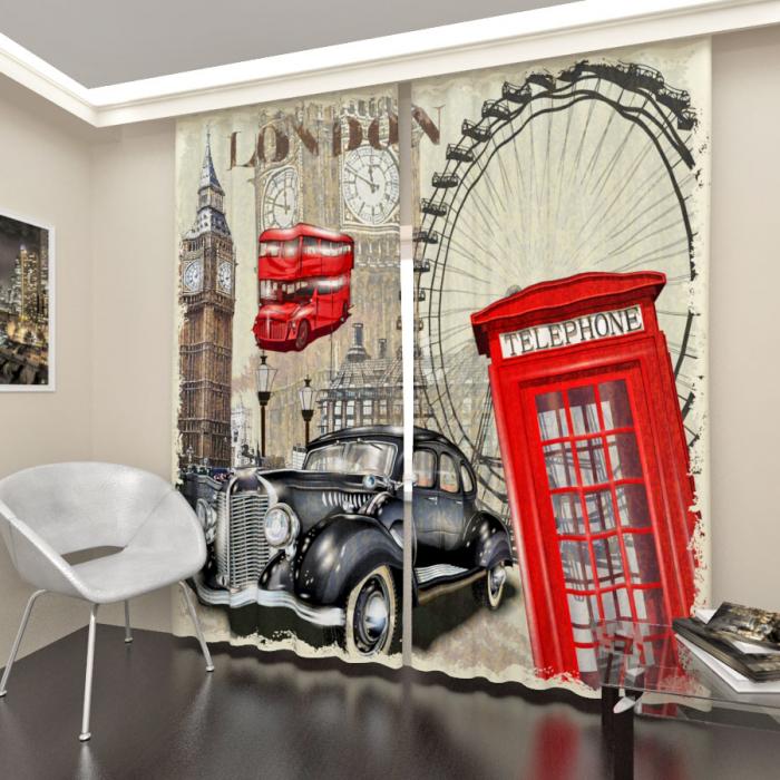 Фотошторы «О Лондоне 2»