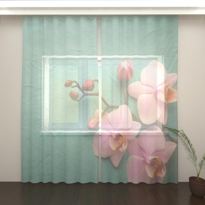 Фототюль «Орхидея 2»