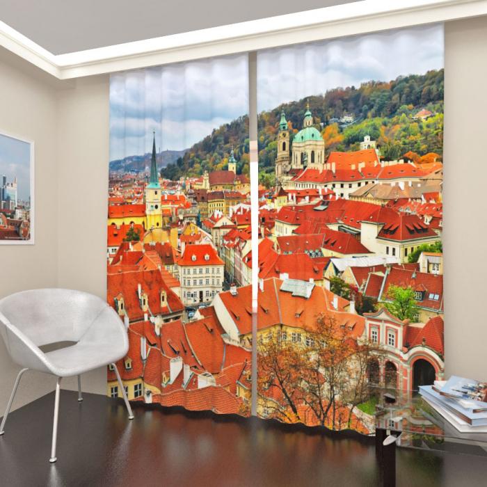 Фотошторы «Панорама Праги»