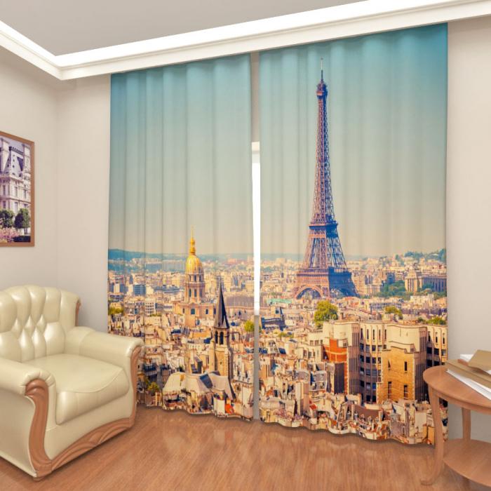 Фотошторы «Париж»