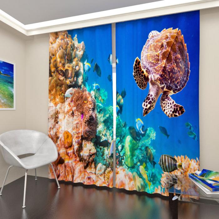 Фотошторы «Подводный мир 5»