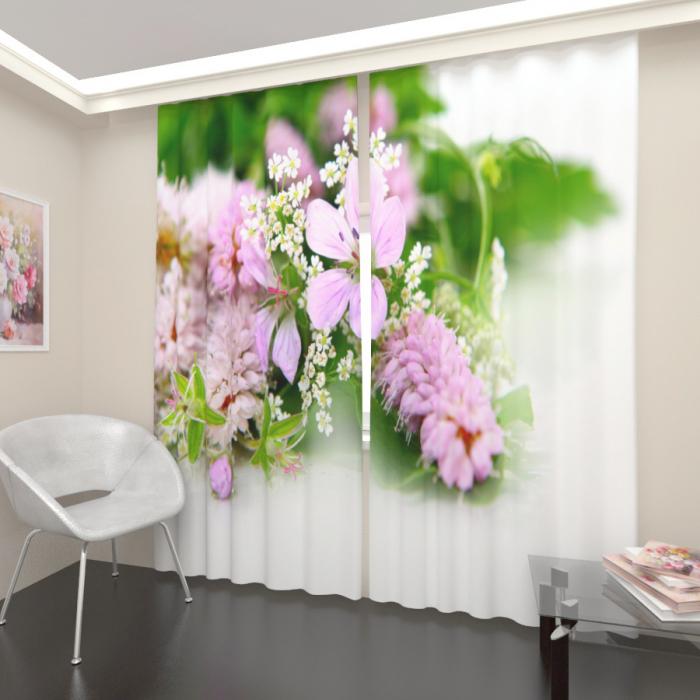 Фотошторы «Полевые цветы 3»
