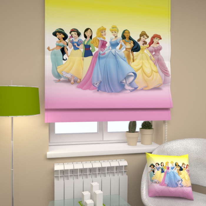 Римские фотошторы «Р Принцессы»