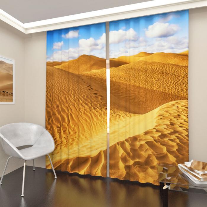 Фотошторы «Пустыня»