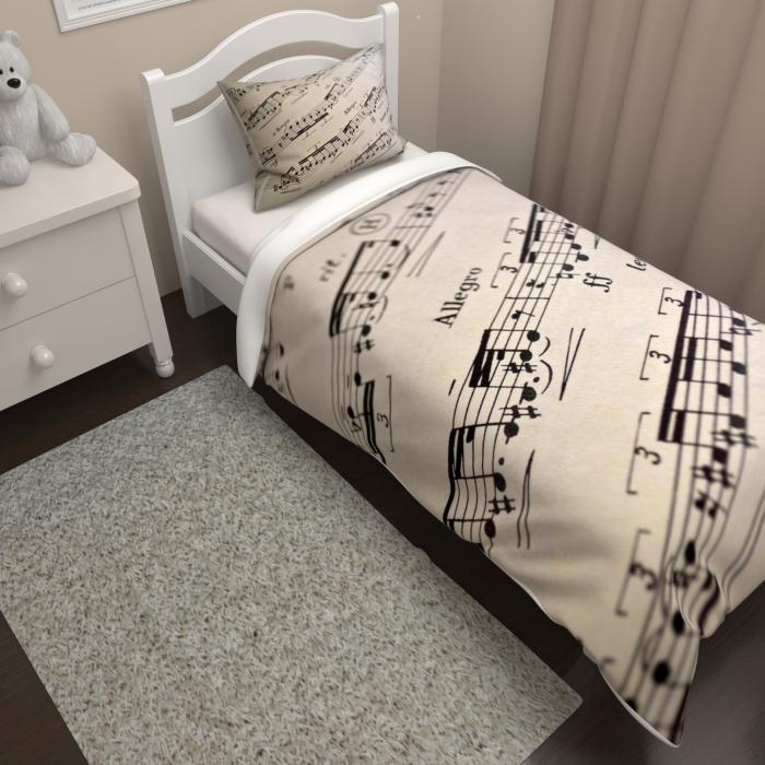 Постельное белье «КПБ Музыкальные Ноты»