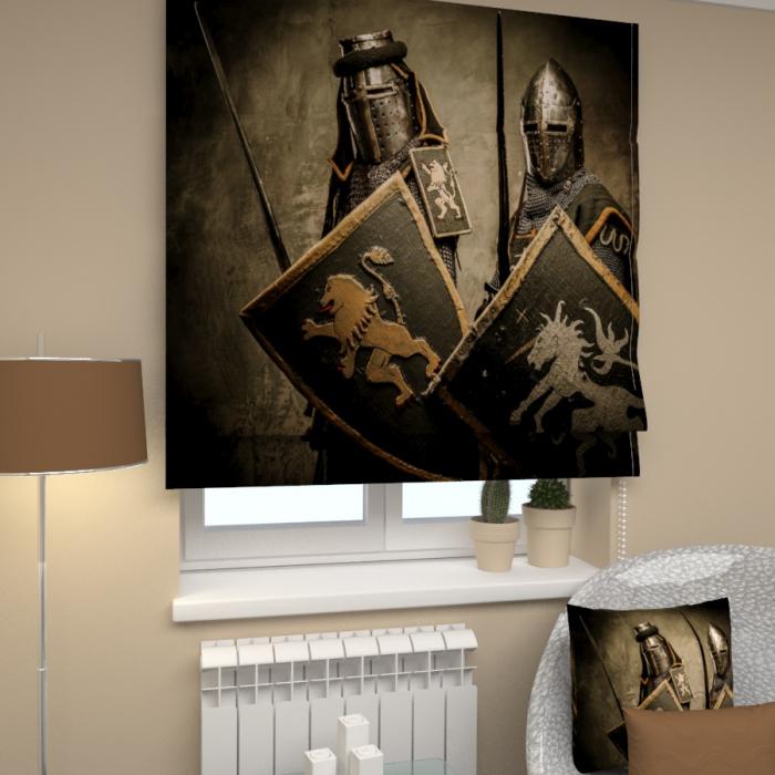 Римские фотошторы «Р Рыцари 2»