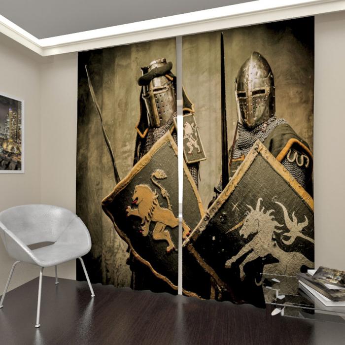 Фотошторы «Рыцари 2»